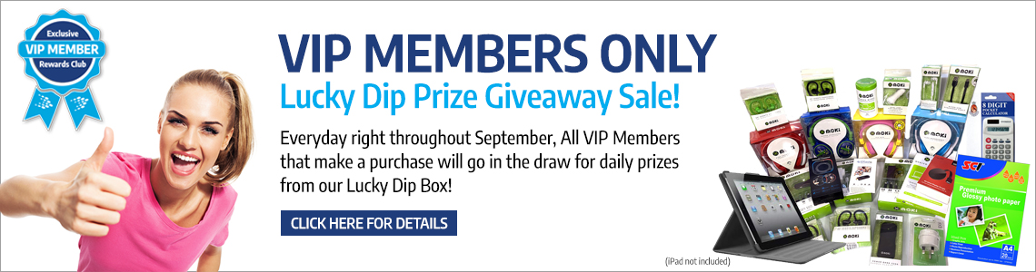 Lucky Dip Prize Giveaway Sale