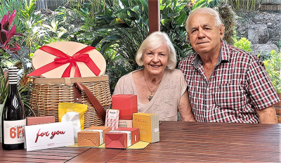 Meet Erwin from MOGGILL in Queensland, Our Valentines Day Picnic Hamper WINNER!