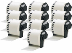 Brother Generic DK-22205 10 Pack Paper Roll Label