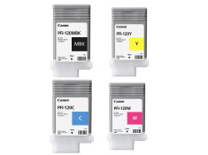 Canon PFI-120 Colour Ink Cartridge Combo 4 Pack Genuine