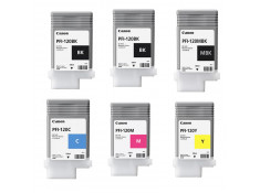 Canon PFI-120 Deluxe Ink Cartridge Combo 6 Pack Genuine