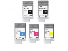 Canon PFI-120 Value Essential Ink Cartridge Combo 5 Pack Genuine