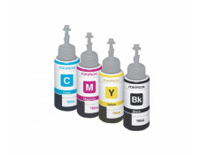 Epson T664 Ink Bottle Refill 4 Pack Essentials Combo Generic