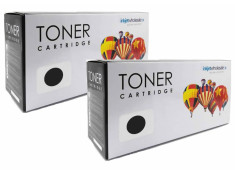 HP 83A - CF283A Black Toner Cartridge Twin Pack Carton Generic