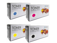 HP 125 Black and Colour 4 Pack Toner Carton Generic