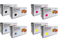 HP 125 Black and Colour 8 Pack Toner Carton Generic