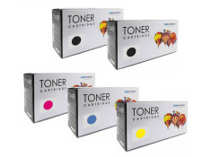 HP 130A Extra Black and Colour 4 + 1 Pack Toner Generic