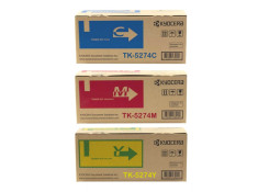 Kyocera TK-5274 High Yield Toner Cartridge Colour Combo 3 Pack Genuine