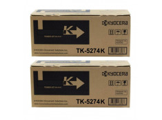 Kyocera TK-5274 Black High Yield Toner Cartridge Twin Pack Genuine