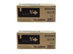 Kyocera TK-5284 Black High Yield Toner Cartridges Twin Pack Genuine