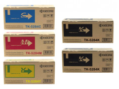 Kyocera TK-5284 Deluxe Plus High Yield Toner Cartridge Combo 5 Pack Genuine