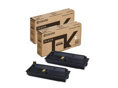 Kyocera TK-6119 Black Toner Cartridge Twin Pack Genuine