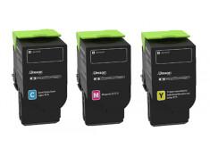 Lexmark C236 Colour High Yield Toner Cartridges Combo 3 Pack Genuine