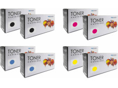 Xerox Generic CM205, CM215,CP105, CP205 Double Essentials Toner Cartridges 8 Pack Combo