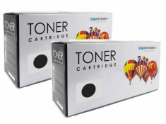 Brother Generic TN-2030 Black Toner Cartridges Twin Pack