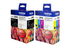 Brother LC-73 Essential Ink Cartridges 3+2 Combo Pack Genuine