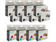 Canon Generic BCI-15 Black & BCI-16 Colour 12 Pack Carton