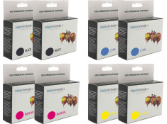 Canon BCI-3 & BCI-6 Double Essentials 8 Black & Colour 2 + 6 Ink Cartridge Combo Pack Generic