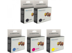 Canon BCI-3 & BCI-6 Deluxe 5 Black & Colour 2 + 3 Ink Cartridge Combo Pack Generic
