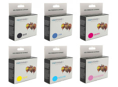 Canon BCI-6 Super Deluxe Black & Colour Ink Cartridge 6 Pack Generic