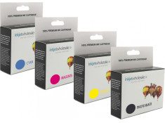Canon CLI-8 Photo Black and Colour Combo 4 Pack Generic