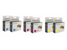 Canon CLI-8 Double Colours Ink Cartridge Bulk Buy 6 Pack Generic