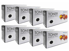 Canon Generic FX-9 Black Toner Cartridges 8 Pack Carton