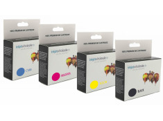 Canon PGI-5 & CLI-8 High Yield Ink Cartridges Bulk Buy 4 Pk Generic