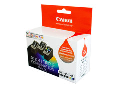 Canon Genuine PG-40 & CL-41 Triple Value Pack