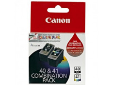Canon Genuine PG-40 & CL-41 Ink Cartridges Twin Pack Combo