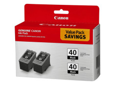 Canon Genuine PG-40 Twin Pack Black