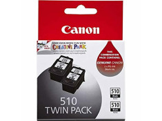 Canon Genuine PG-510 Black Ink Cartridges Twin Pack