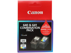 Canon Genuine PG-640 & CL-641 Black & Colour Ink Cartridges Twin Pack Combo