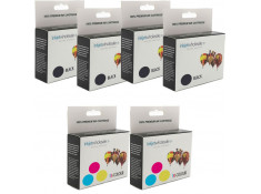 Epson T038/39 Black & Tri-Colour Ink Cartridge 6 Pack Combo Generic
