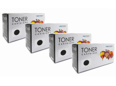 HP 15X Black Quad 4 Pack Toner Carton Generic