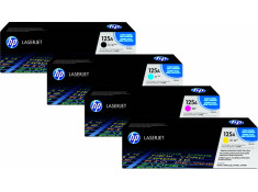 HP Genuine CB540 Series Colour Toner 4Pk Combo