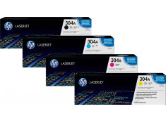 HP Genuine CC530 Series Colour Toner 4Pk Combo