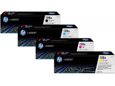 HP Genuine CE320 Series Colour Toner 4Pk Combo