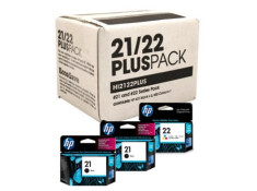 HP Genuine No.21 & No.22 2 + 1 Combo Plus Pack
