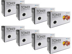 Lexmark 18S0090 - X215 Black Toner Cartridges 8 Pack Carton Generic