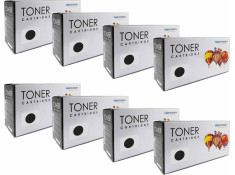 Xerox Generic 109R00725 Black Toner Cartridges 8 Pack Carton