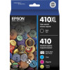 Epson Genuine 410XL Ink Cartridge 5 Pack Value Combo
