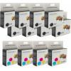 Canon Generic BCI-15 Black & BCI-16 Colour 12 Pack Carton