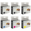Canon BCI-3 & BCI-6 Deluxe Plus Black & Colour 2 + 4 Ink Cartridge Combo Generic
