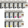 Canon CLI-521 and PGI-520 High Yield Ink Cartridge 14Pk Generic