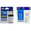 Epson Genuine 73N 3+2 Combo with Paper Pack