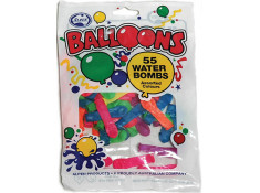 Alpen 55 Waterbomb Assorted Coloured Party