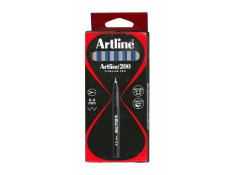Artline 200 Series 0.4mm Fineliner Blue Pens