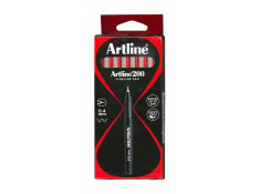 Artline 200 Series 0.4mm Fineliner Red Pens