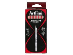 Artline 210 Series Medium Red 0.6mm Markers